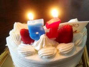 51歳の誕生日ケーキ